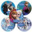 Disney Frozen Movie Stickers - 75 Per Pack