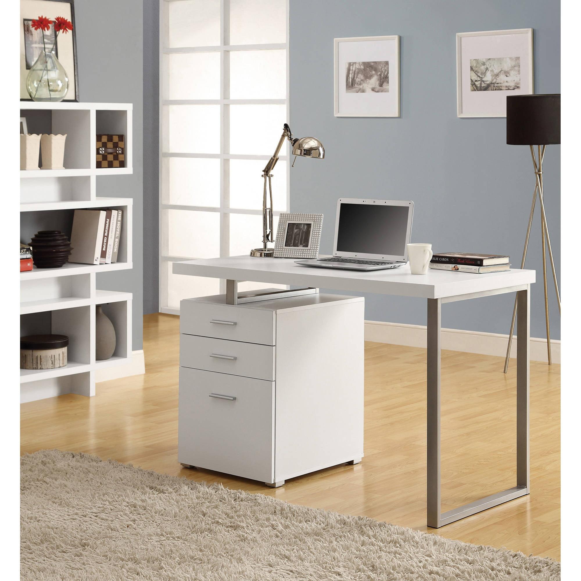 Monarch computer desk 48l white left or right facing walmart com