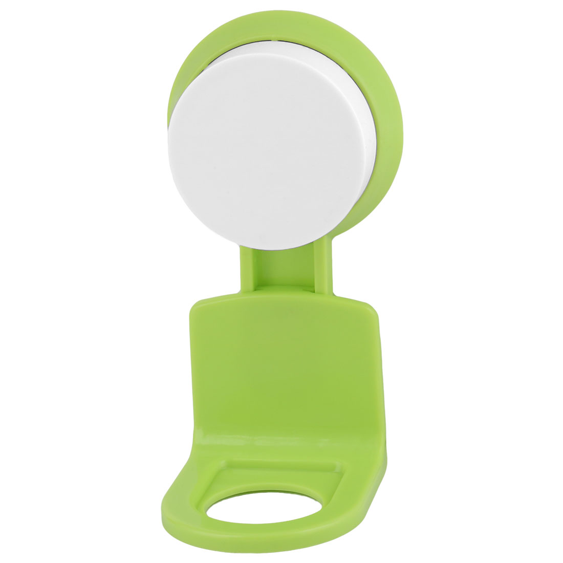 Bathroom Plastic Wall Mounted Suction Cup Body Wash Shower Gel Holder Rack Green - image 3 of 3