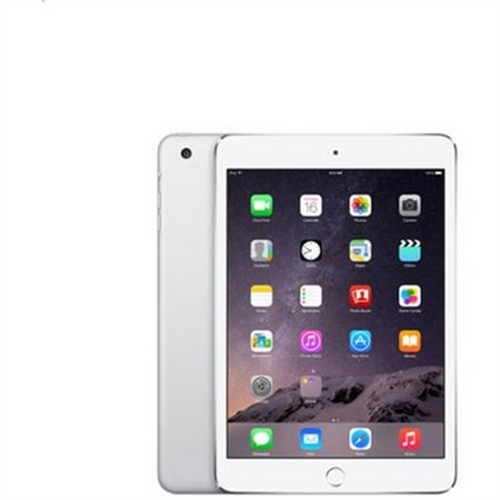 Refurbished Apple iPad mini 3 MGP42LL/A (128GB, Wi-Fi, Silver)
