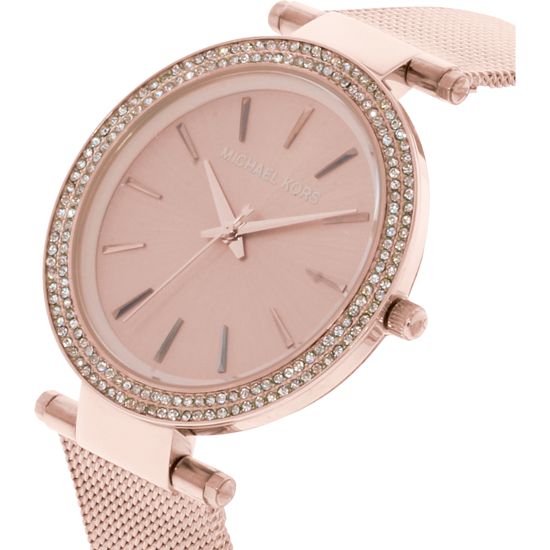 679aacfc3e Michael Kors - Women's Darci MK3369 Rose-Gold Stainless-Steel Quartz  Fashion Watch - Walmart.com