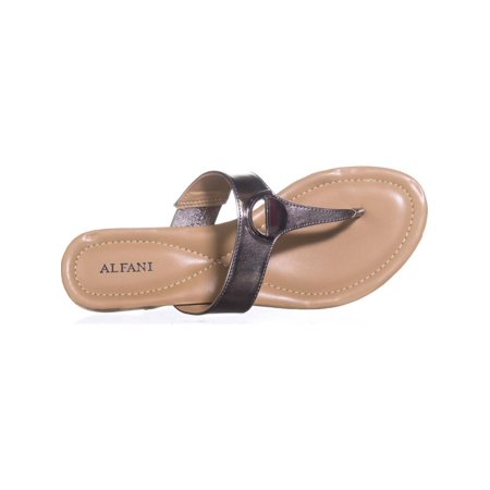 1d56dd72e6e9 Alfani Womens Hollis Open Toe Casual Slide Sandals - image 6 of 6 ...