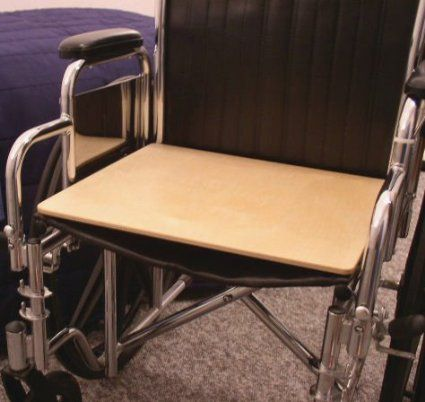 """Mobility Transfer Systems SafetySure Wooden Wheelchair Board 20"""" W x 18"""" D, 1/2"""" (Thick), 500 lb, 1 Count"""