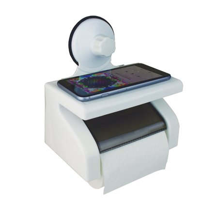 Toilet Paper Holder Dispenser Quick Release Suction Cup