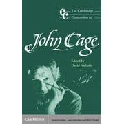 The Cambridge Companion to John Cage - eBook
