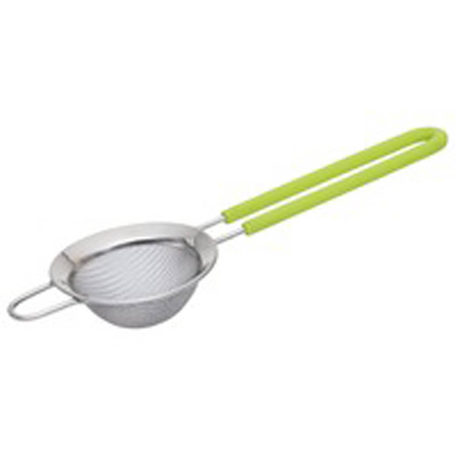 Click here to buy Berghoff CookNCo Strainer 7cm, Lime Handle by BergHOFF International.