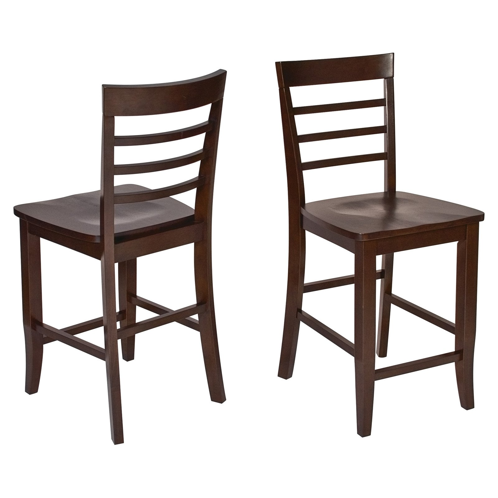Jamestown 24 in. Counter Height Bar Stool - Set of 2