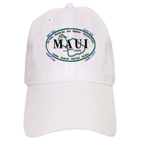 CafePress - Maui Surf Spots - Printed Adjustable Baseball Cap (Surfing Baseball Caps)