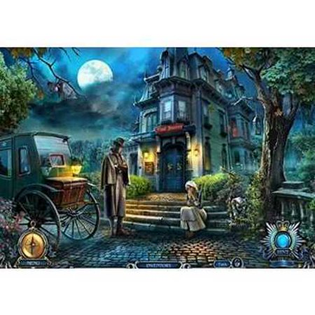 Haunted Hotel Episode 1: ECLIPSE + Episode 2: ANCIENT BANE Hidden Object PC Game DVD-ROM - Haunted Halloween Games Online