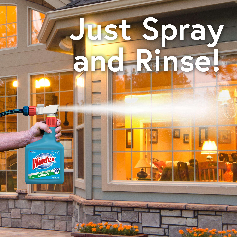 Windex Outdoor Sprayer Blue Bottle 32 Fl Oz Walmartcom
