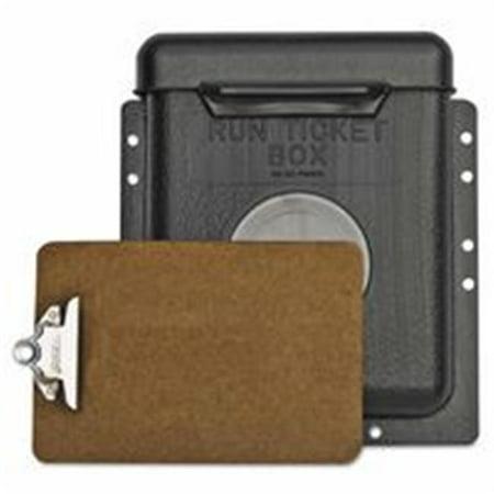 Gearench 306-RTB1 Bo-tes - billets Petol Run avec couvercle - charni-re, 1 - 0,5 lb Poly-thyl-ne - image 1 de 1