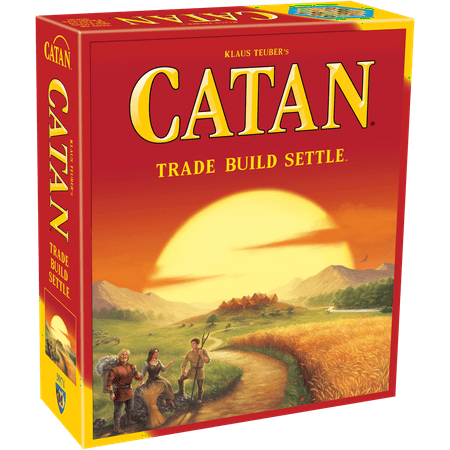 Classic Strategy Game (Catan Strategy Board Game: 5th Edition)