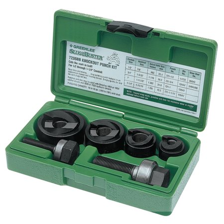 Slug Buster Punch Set, 1/2u0022-1 1/4u0022