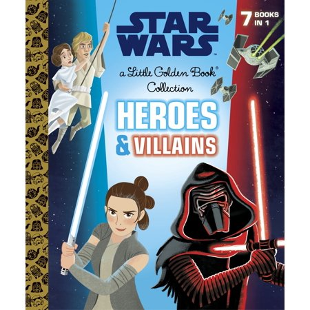 Heroes and Villains Little Golden Book Collection (Star Wars)](Villain In The Little Mermaid)