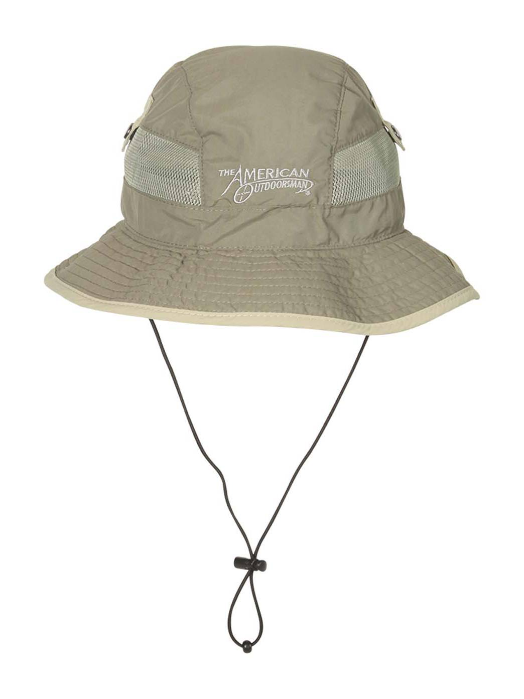 43a02fad20a American Outdoorsman Taslon UV Bucket Hat - Navy - X-Large