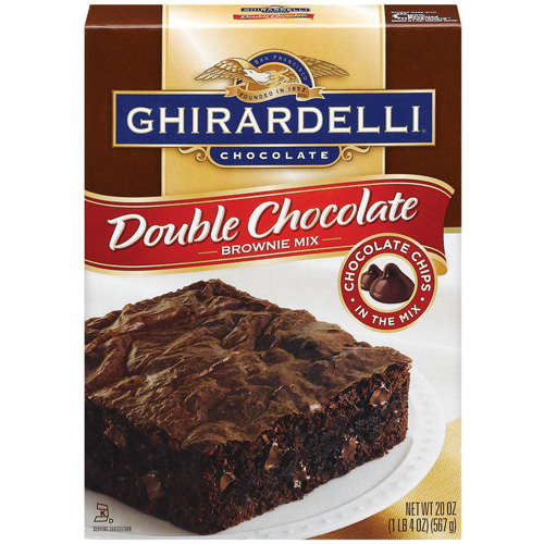Ghirardelli Double Chocolate Brownie Mix, 20 Oz