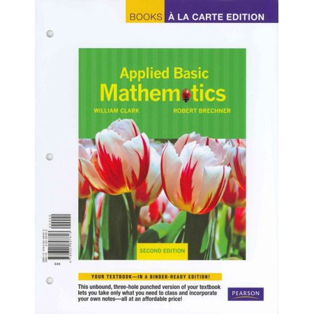 Applied Basic Mathematics Mymathlab Student Access Kit Walmart