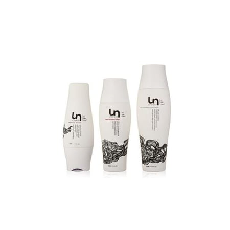 Unwash Rethink Clean 3 Piece Conditioning, Rinse, and Masque Kit