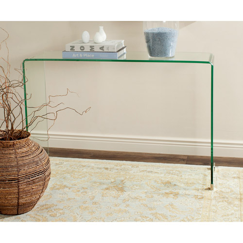 Safavieh Ambler Console Table, Clear by Safavieh