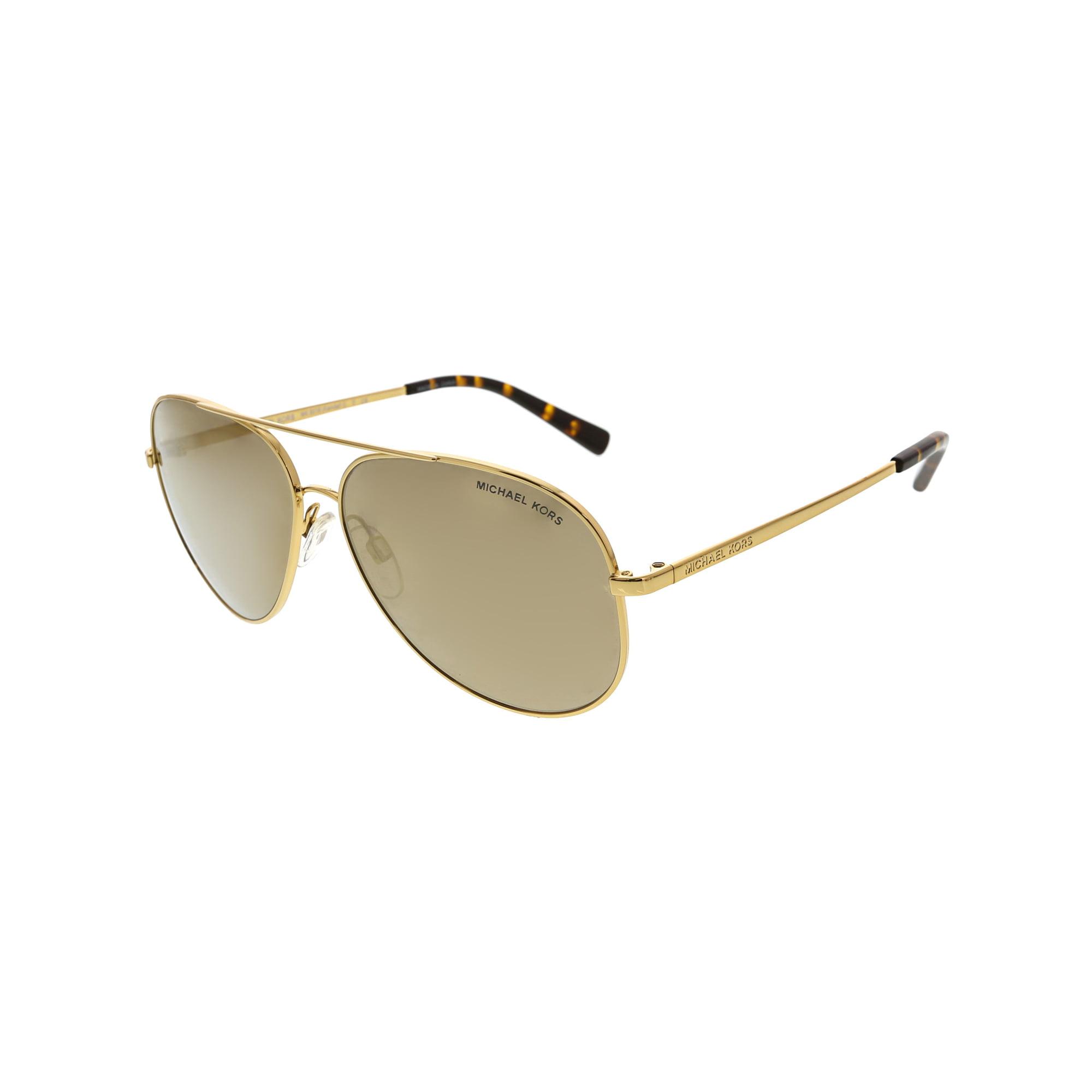 4e68a599c Michael Kors Women's Chelsea MK5004-1017R1-59 Gold Aviator Sunglasses |  Walmart Canada