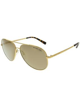 Women's Chelsea MK5004-1017R1-59 Rose Gold Aviator Sunglasses