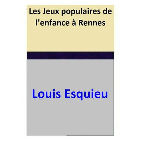 Les Jeux populaires de l'enfance à Rennes - eBook - Jeux De Fille Halloween