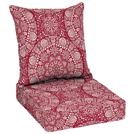 Better Homes and Gardens Lace Medallion Outdoor Deep Seating Cushion ...