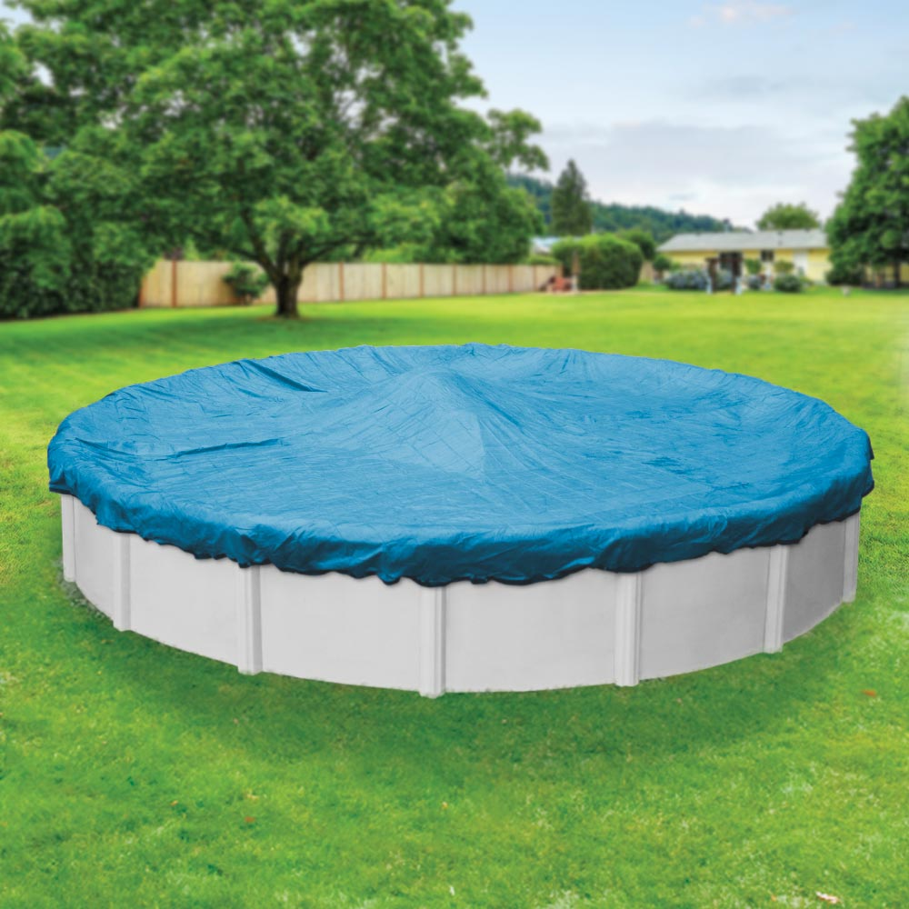 Pool Mate Mesh Round Winter Pool Cover