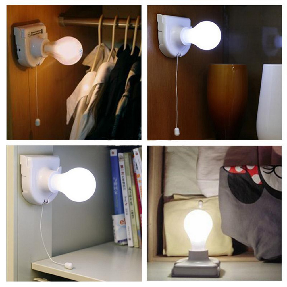 Exceptionnel Portable Energy Saving White Stick Up Lights Cordless Wireless Battery  Operated Night Light Portable Bulb Licht