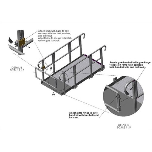 Prairie View Industries Ramp Gate