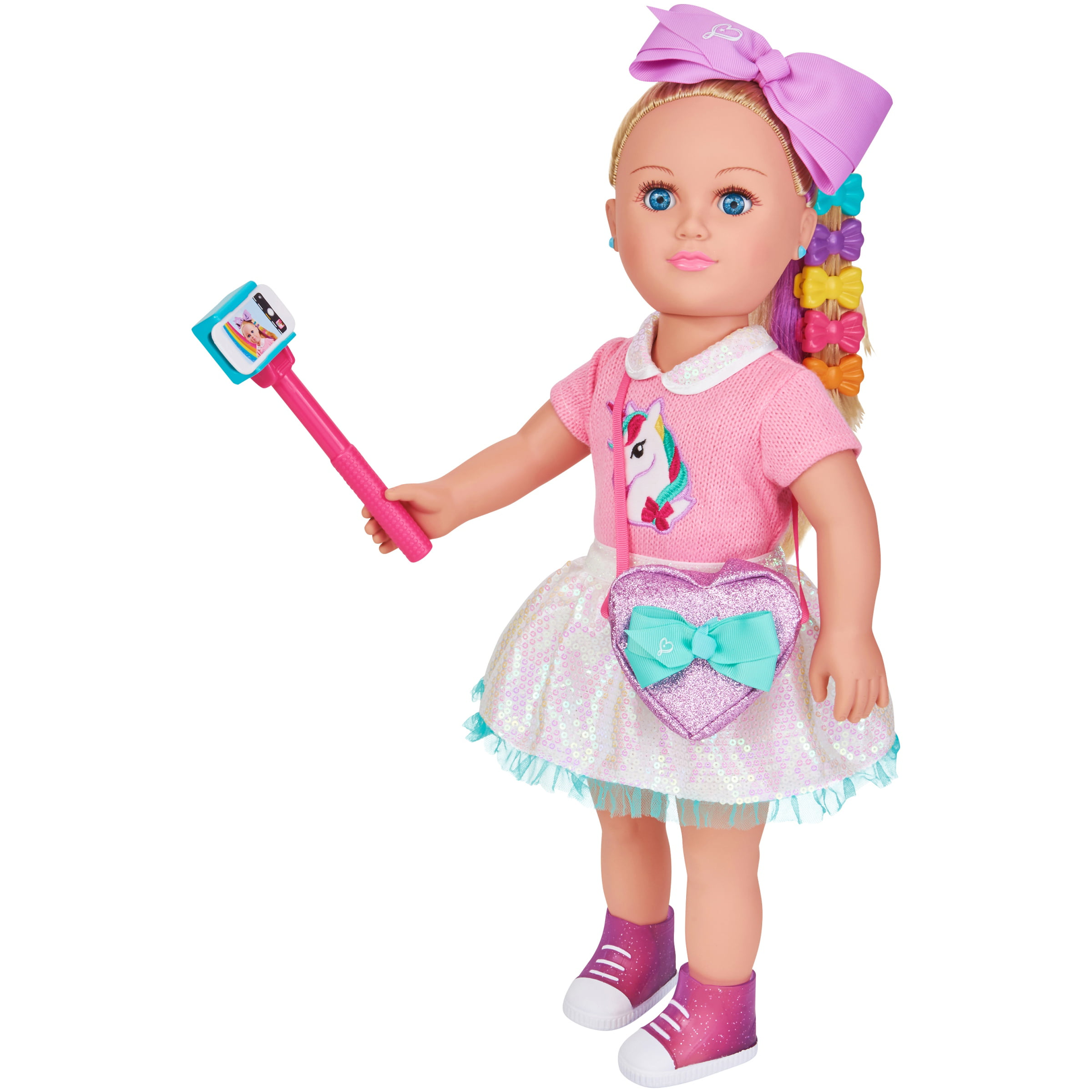 "My Life As 18"" Poseable JoJo Siwa Doll, Blonde Hair with a Soft Torso"