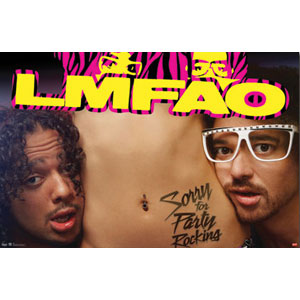 LMFAO - Domestic Poster
