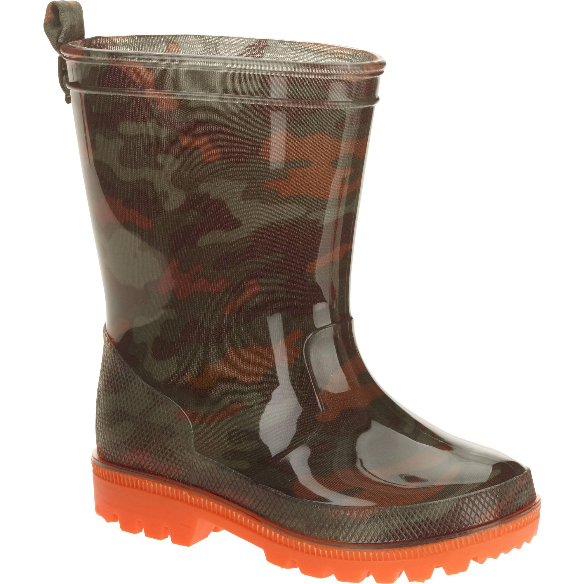 Camo Printed Toddler Boys' Jelly Rain Boots