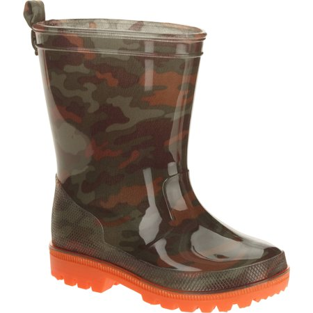 Camo Printed Toddler Boys' Jelly Rain Boots