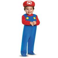Nintendo's Super Mario Brothers Toddler Deluxe Mario Halloween Costume Exclusive