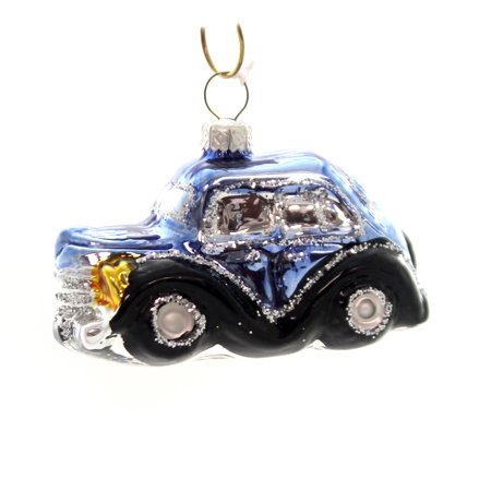 Holiday Ornaments OLD FASHION CAR. Glass Vehicle Transportation ()