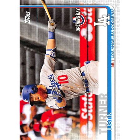 2019 Topps Opening Day #79 Justin Turner Los Angeles Dodgers Baseball