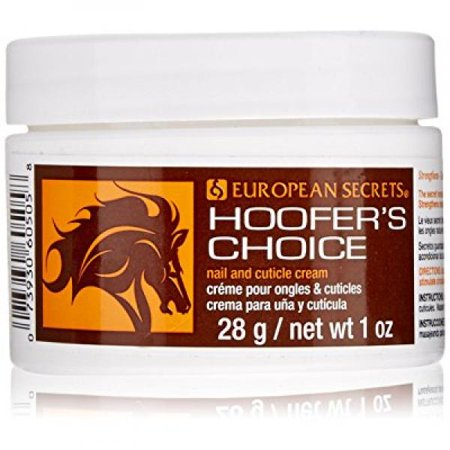 super nail Hoofer's Choice Hoof Nail and Cuticle Cream, 1 oz (28g)