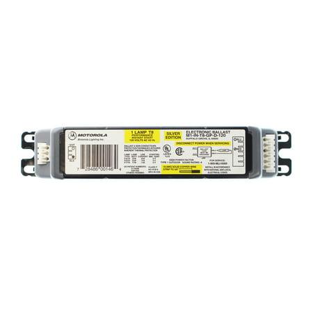Motorola M1-IN-T8-GP-D-120 Electronic Ballast, 1-Lamp, F32T8, 32W T8, 120V