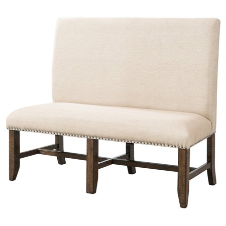 Picket House Francis Fabric Back Bench ()