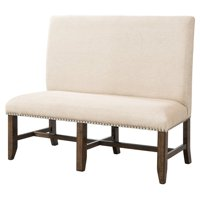 Picket House Francis Fabric Back Bench