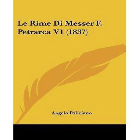 Le Rime Di Messer F. Petrarca V1 (1837) - image 1 of 1
