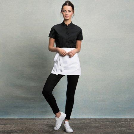 Bargear Ladies Short Sleeved Mandarin Collar Bar Shirt - image 5 of 6