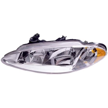 Go-Parts OE Replacement for 1998 - 2001 Dodge Intrepid Front Headlight Assembly Housing / Lens / Cover - Left (Driver) Side 5161539AB CH2502113 Replacement For Dodge