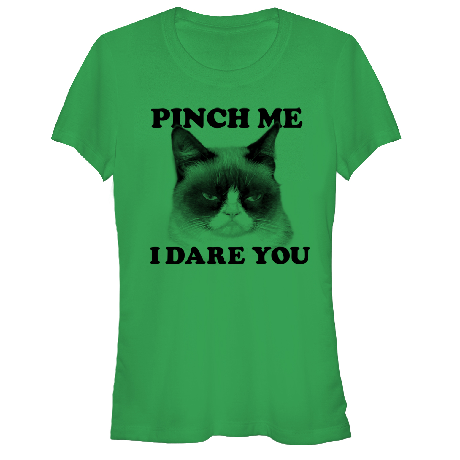 Grumpy Cat Juniors' Pinch Me I Dare You T-Shirt