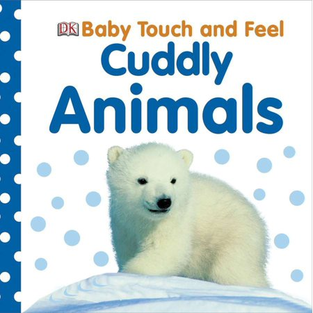 Baby Touch and Feel: Cuddly Animals - Great Halloween Books For Toddlers