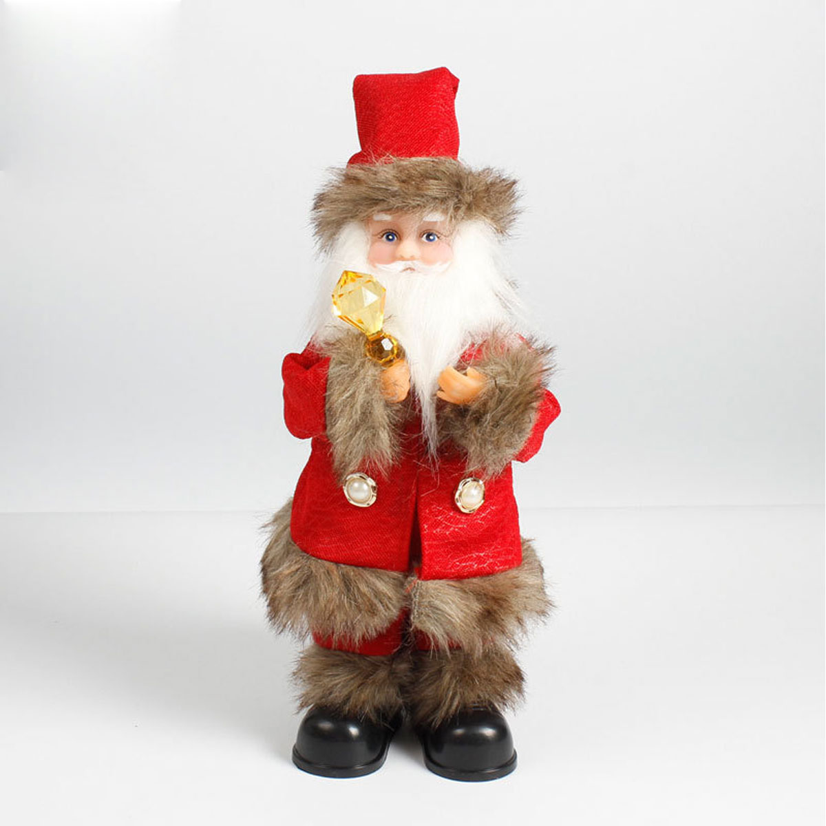 Christmas Dancing Santa.Santa Claus Electric Toy Battery Operated Plush Singing Dancing Santa Doll Christmas Gift