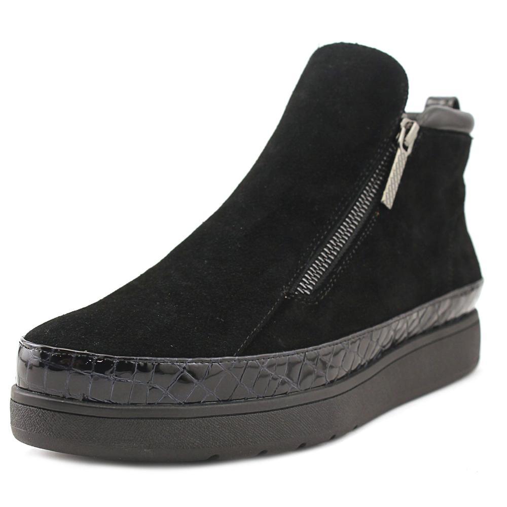 Donald J Pliner Meira 2 Women Suede Black Fashion Sneakers by Donald J Pliner
