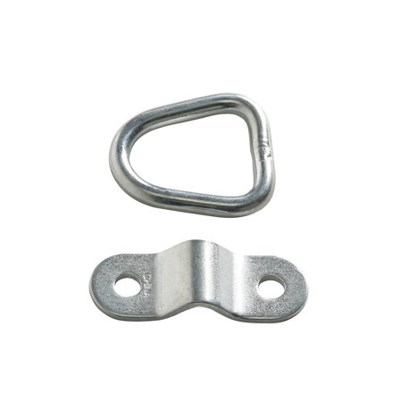 10 D-Ring Tie-Down Anchors, 1/4