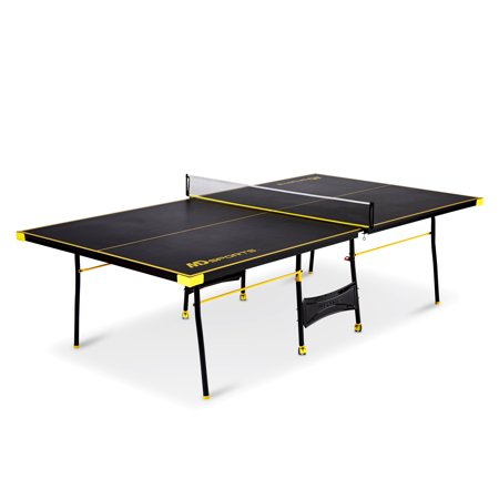 Md Sports Official Size Table Tennis Table  Black Yellow